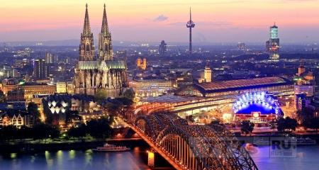 Городок Германии.