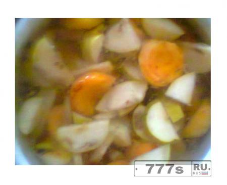 Кулинария: абрикосово-грушевый компот