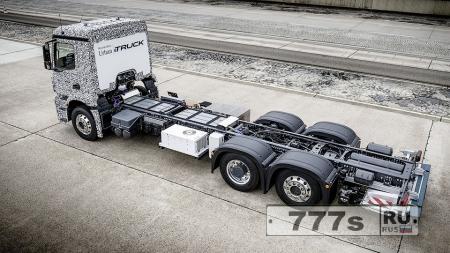 Авто: Mercedes-Benz показали электрический грузовик