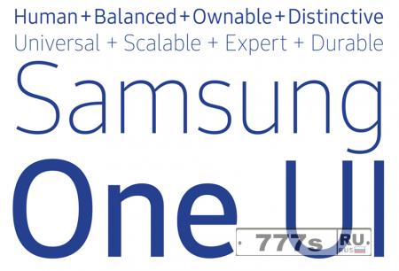 Новости IT: Samsung разрабатывает свое семейство шрифтов.