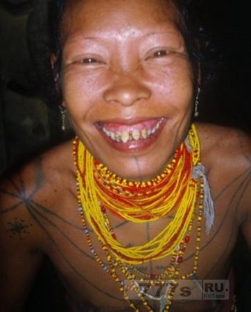 Интересно: жутковатая традиция племени Ментаваи