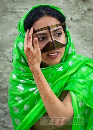 Интересно: традиция иранских островитянок