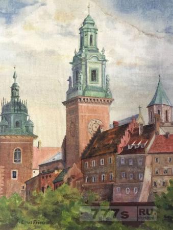 Ценная картина украденная у Адольфа Гитлера появилась на свет 71 год спустя