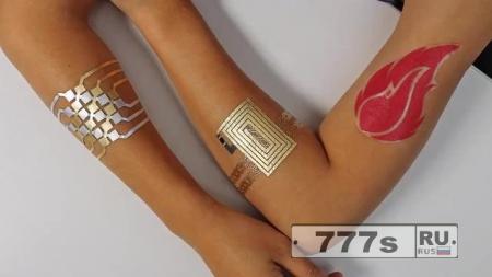 Теперь вы можете сделать татуировку, которая контролирует ваш телефон