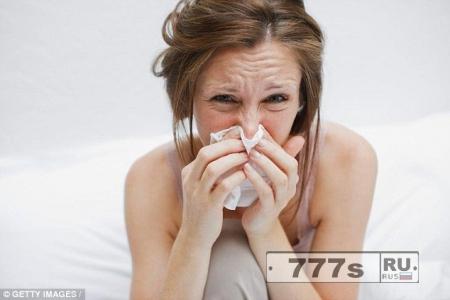 Простуда обычно начинается утром.