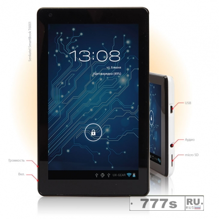 Обзор: планшет Senkatel SmartBook 6