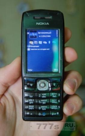 Обзор: старенький смартфон Nokia E50