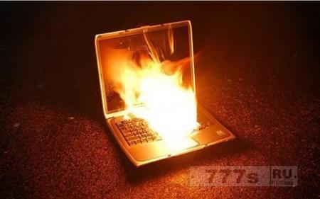 Расплавил я свой ноутбук за 5 лет ! жаль (