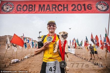 Бегун-марафонец воссоединился с любимым псом, который пробежал с ним 250 км