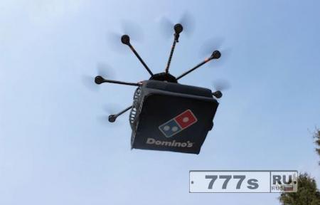 Домино Пизза в Новой Зелaндия начнет использовать дроны для доставки