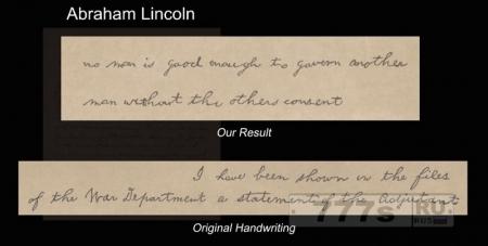 Новости IT: ученые научили компьютерную программу подделывать почерк