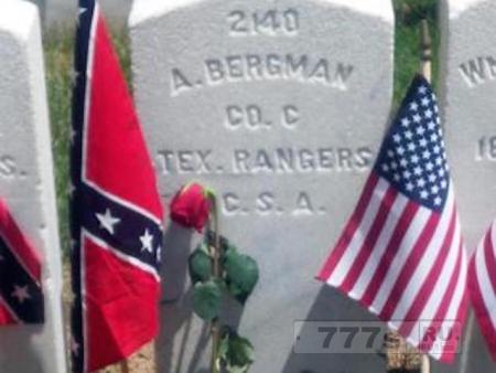 Ошибка на надгробии времен Гражданской войны была исправлена через 154 года