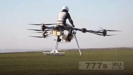 Интересно: летающий байк за 200 000 долларов