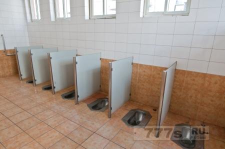 Студентам в Китае дается ежемесячная квота для смыва туалетов