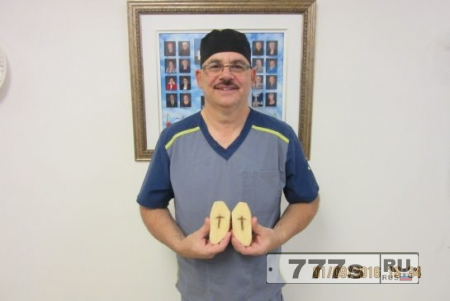 Пожилые люди Квебека говорят, что они нашли картофель с божественным посланием