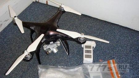 Преступники с помощью дрона переправили рекордное количество наркотиков в тюрьму