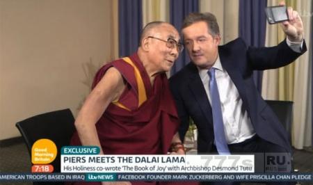 Далай-ламу спросили, что он думает о разводе Брэда Питта и Анджелина Джоли