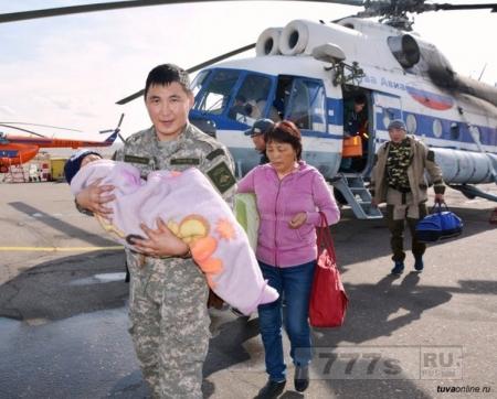 Малыш выжил в одиночку в сибирской тайге в течение трех дней