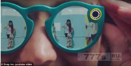 Snapchat запускает £ 100 солнцезащитные очки со встроенной видеокамерой, чтобы снимать 10-секундные клипы