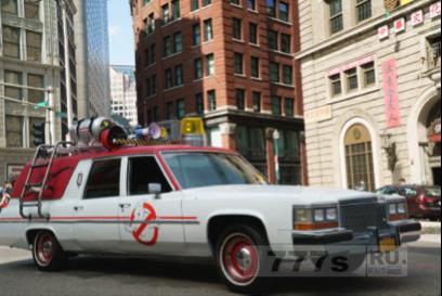 В эти выходные жители Лондона могут проехать в машине Ecto-1 из фильма «Охотники за привидениями».