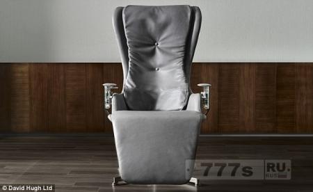 Вы бы заплатили £ 20 000 за стул? Кресло «нулевой гравитации», как говорят, очень комфортно