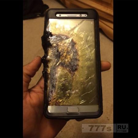 Samsung новые телефоны также загораются