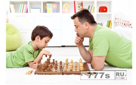 Не волнуйтесь, папы - дети на самом деле не наследуют интеллект только от мамы