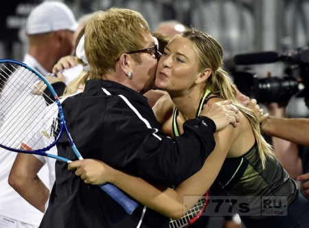 Мария Шарапова вышла на теннисный корт впервые после запрета