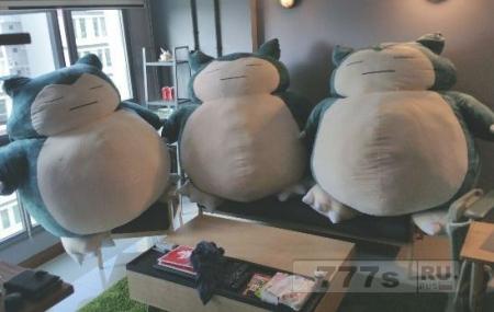 Мужчина ищет подарок для своей жены и случайно покупает три плюшевых толстых Снорлака