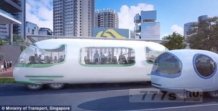 Сингапур начнет испытания автобусов самостоятельного вождения