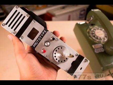 Интересно: самодельный мобильный телефон с дисковым набирателем