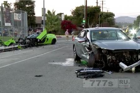 Спортивный автомобиль McLaren был разбит в куски «стрит рейсерами», их госпитализировали