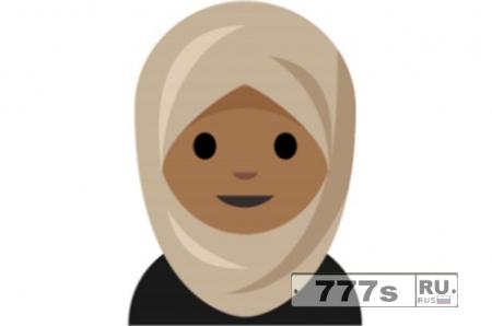 Комплект еможи хиджаб появиться в айфоне в следующем году