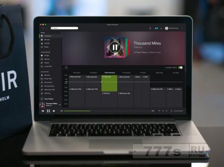 Новости IT: популярный музыкальный сервис Spotify