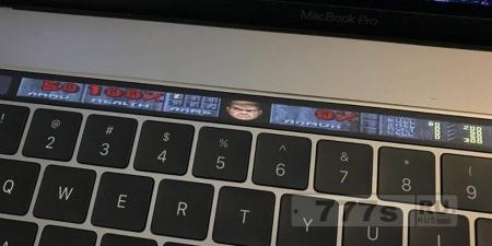 Игры: DOOM портирован на сенсорную панель MacBook