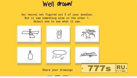 Новости IT: Google создали игру для обучения нейросети - quickdraw.withgoogle.com