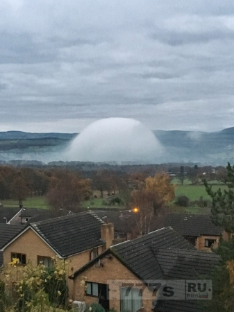 Женщина стала свидетелем теории вторжения инопланетян, сделав снимок странного купола