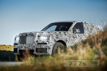 Rolls-Royce показал фотографии новой 4×4 модели, которую испытают за Полярным кругом и на Ближнем Востоке