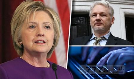 Союзники Ассанжа говорят, что хак документов Клинтон во время выборов был сделан «своими», а не Россией