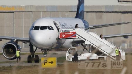 Угон самолета прервал постановочную съемку угона самолета
