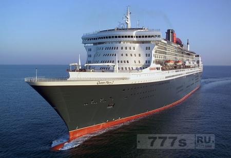 Есть опасения, что женщина из Британии упала за борт лайнера Queen Mary 2.