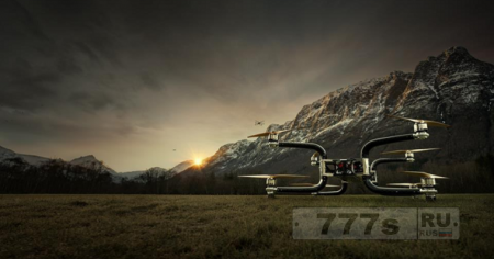 Интересно: грузовой дрон