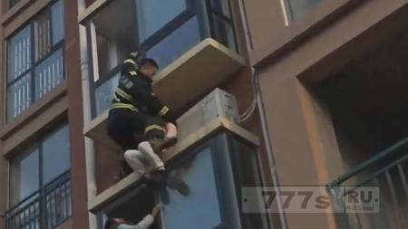 Самоубийство не состоялось (видео)