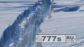 Британские полярники вынуждены покинуть станцию из-за трещины во льдах