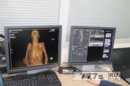 Впервые просканированы мумии из Эрмитажа