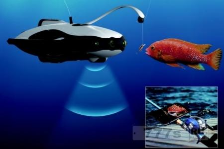 Новости IT: создан робот для рыбалки