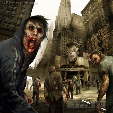 Сколько вы проживете при зомби Апокалипсисе.