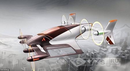 Аэробус будет тестировать прототип собственного летающего такси до конца этого года.