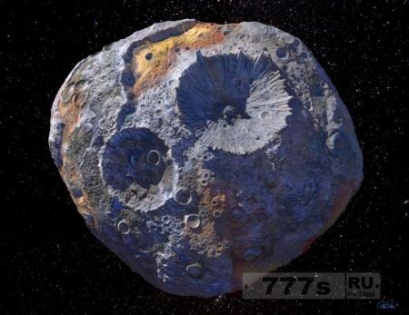 НАСА запустит космический аппарат на металлический астероид.