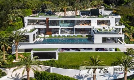 Самый дорогой дом в Америке выставлен на продажу за 246 млн долларов.